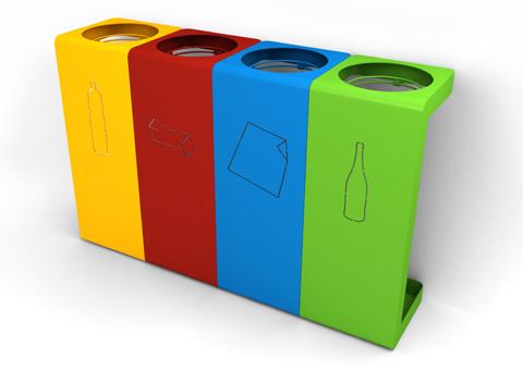pegase partners villeneuve d'ascq nettoyage tri sélectif poubelles couleurs